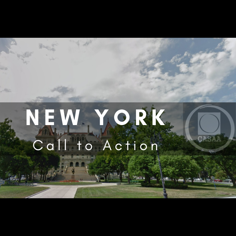 NY – Don't let State BAN FLAVORS or ENACT TAXES on Vaping! | CASAA